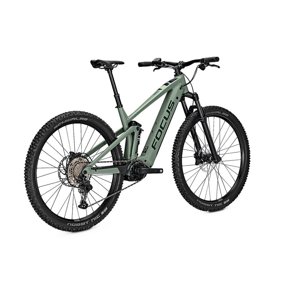 FOCUS E-Bike Thron2 6.8  in Green Ansicht hinten
