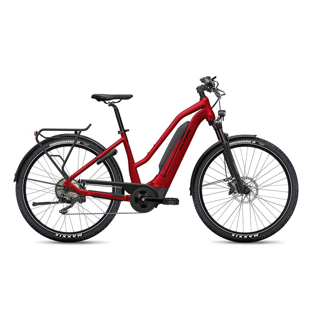 FLYER E-Bike Upstreet5 7.12 Mixedrahmen in Red