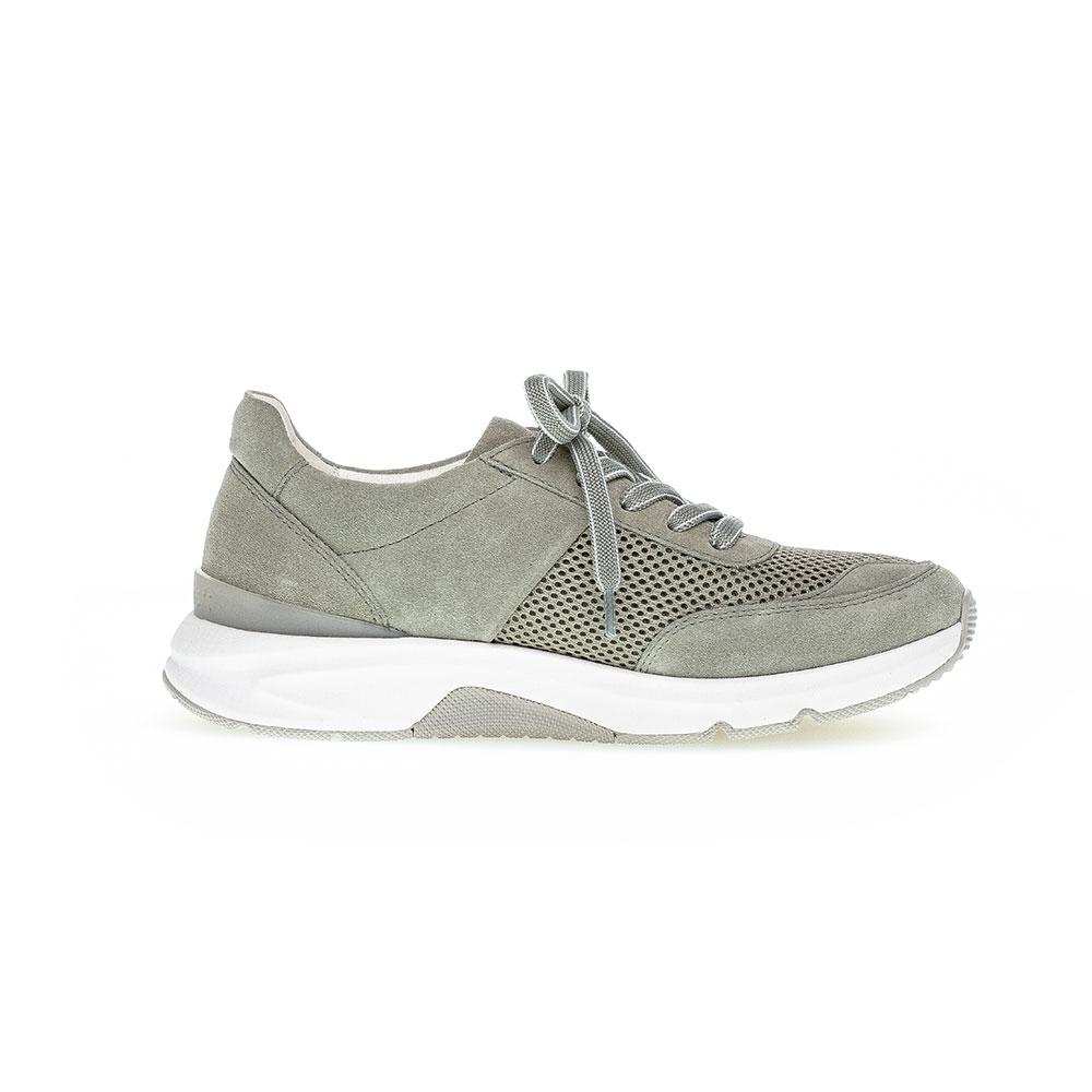 Gabor Rollingsoft Sneaker für Damen in Grün - Seitenansicht innen