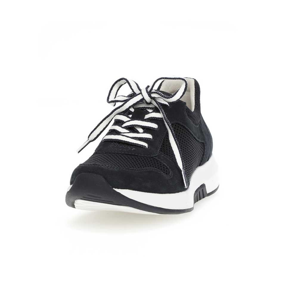 Gabor Rollingsoft sensitive Sneaker Mesh- leicht abgerundete Sohle