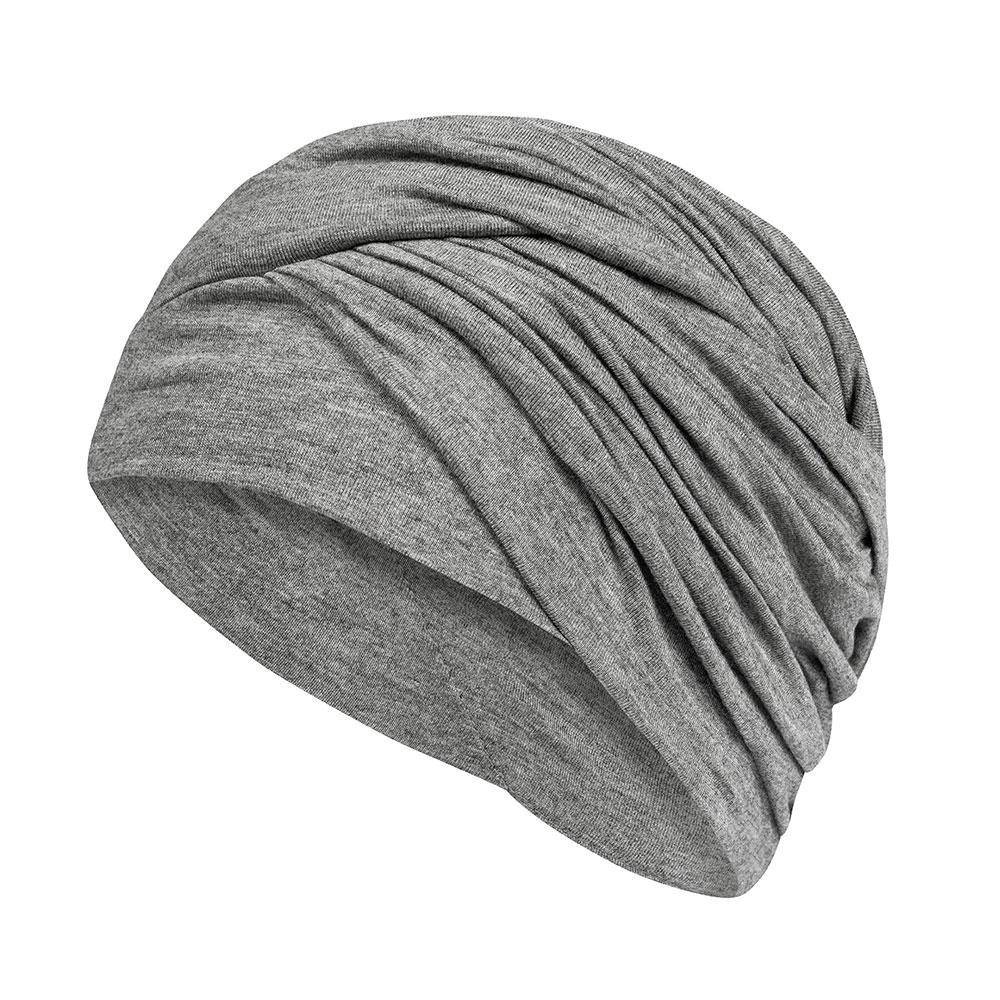 Grau-Melange| Kopfbedeckung Daylily in fünf Farben für jeden Stil