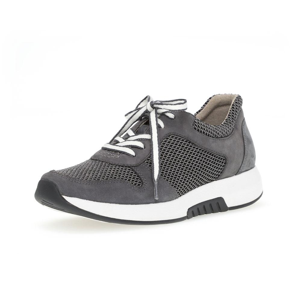 Gabor Rollingsoft Sneaker Grey River  für Damen - Ansicht Außenseite vorne