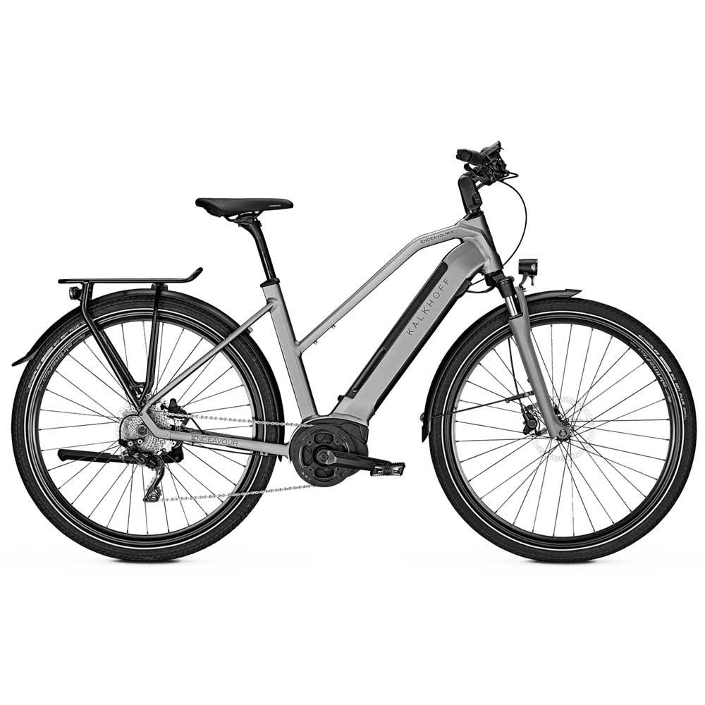 grau| Kalkhoff E-Bike Endeavour 5.B XXL Modell 2020, Trapezrahmen, Farbe: Torontogrey matt
