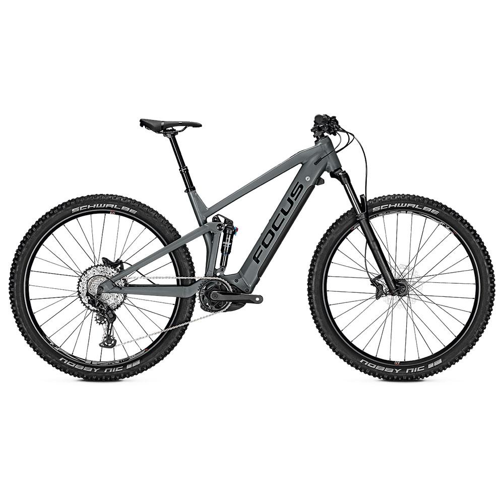 FOCUS E-Bike Thron2 6.8  in Grey Sesitenansicht