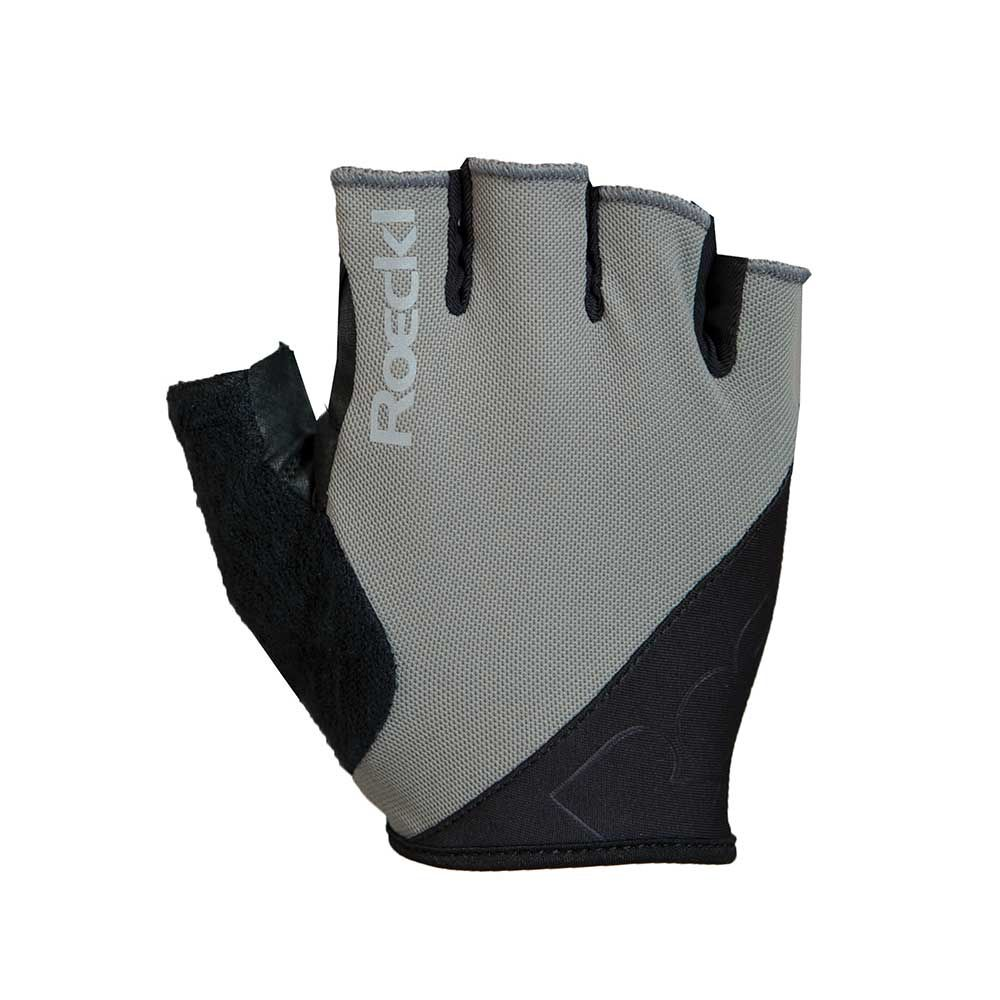 grey| Roeckl BOLOGNA Kurzfingerhandschuhe in Grau