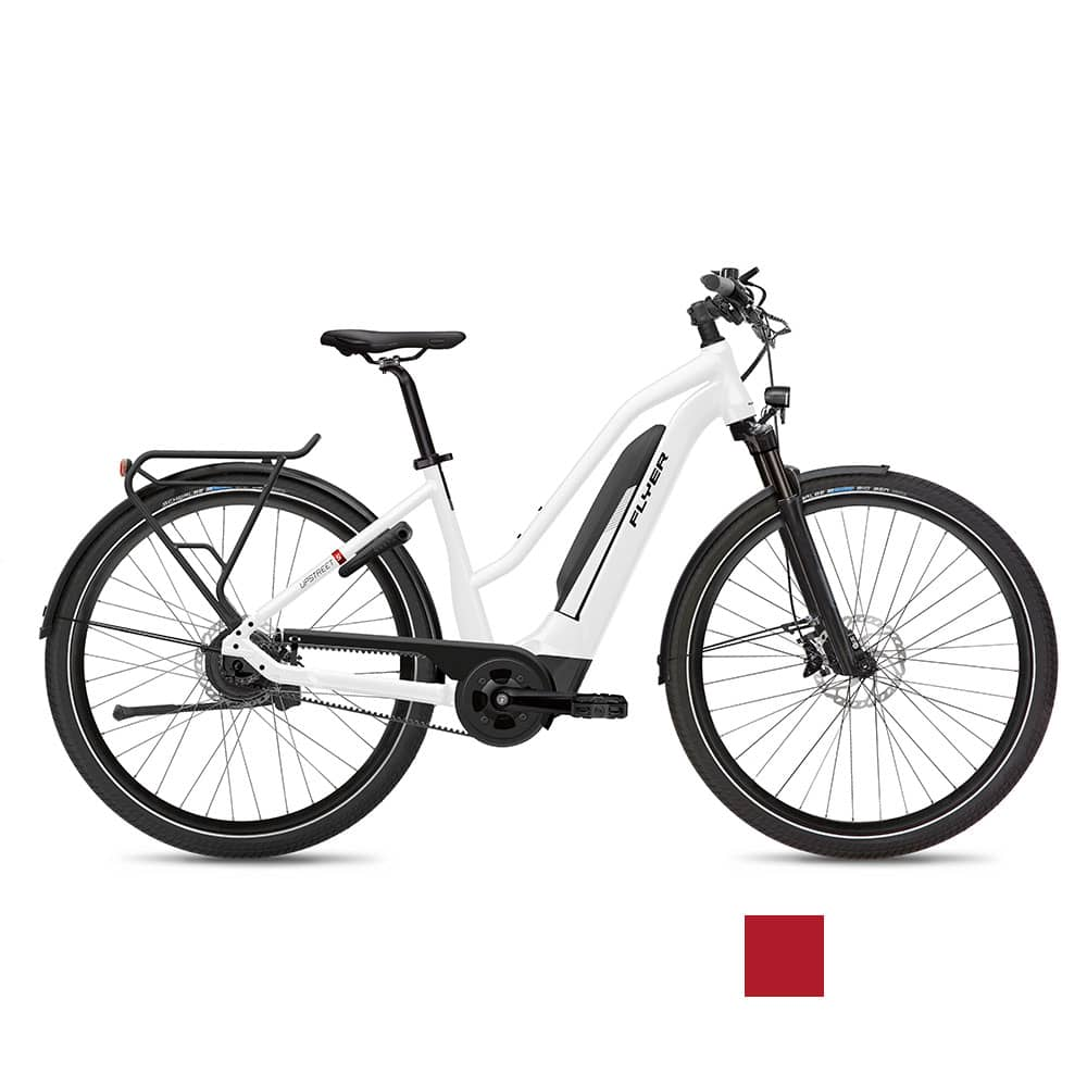 FLYER E-Bike Upstreet5 7.23 Mixedrahmen Rot