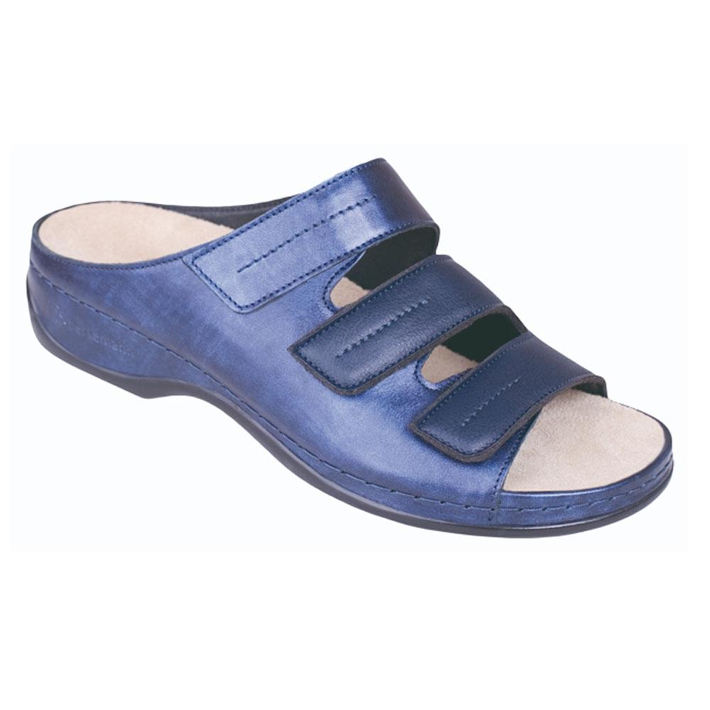 blau Berkemann Pantolette Andrea Blau