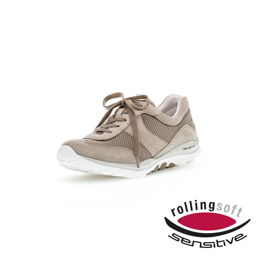 Gabor Rollingsoft Sneaker für Frauen in Viscone - Frontansicht mit Logo