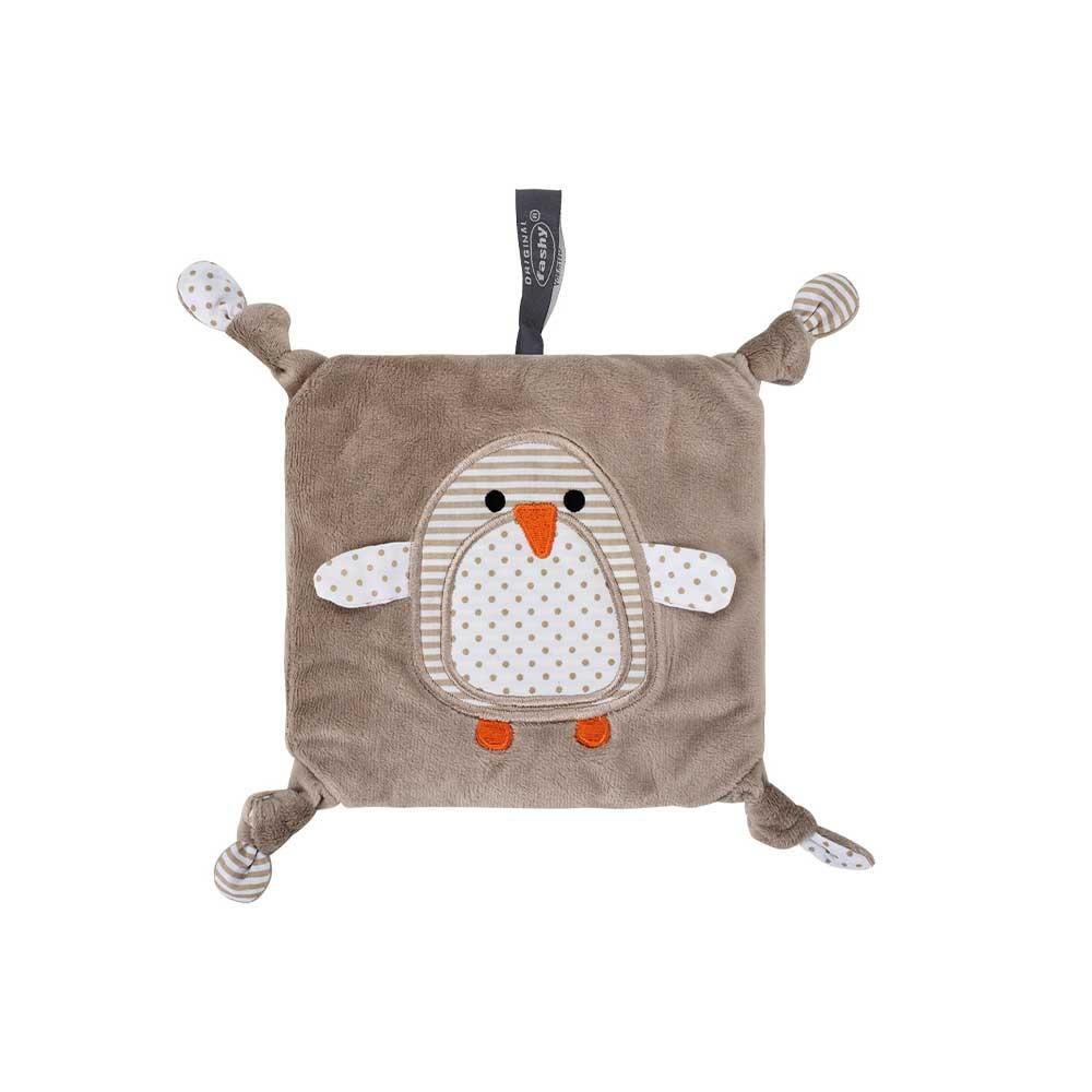 Fashy Wärmekissen für Kinder mit Pinguin Motiv und Rapssamenfüllung