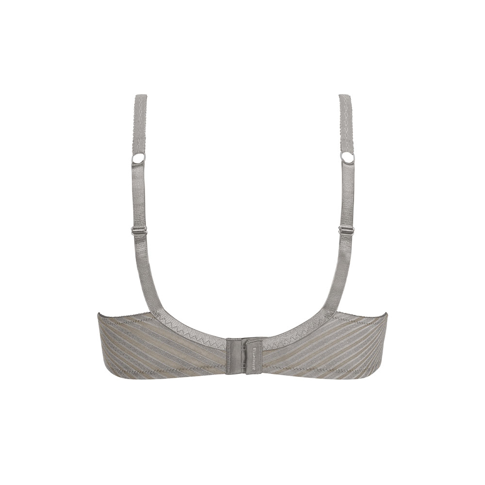 Amoena Urban Stripes SBP Prothesen-BH grau grau Ansicht hinten