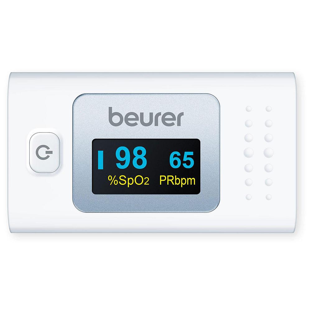 Mit dem Beurer Pulsoximeter messen Sie völlig schmerzfrei die arterielle Sauerstoffsättigung im Blut