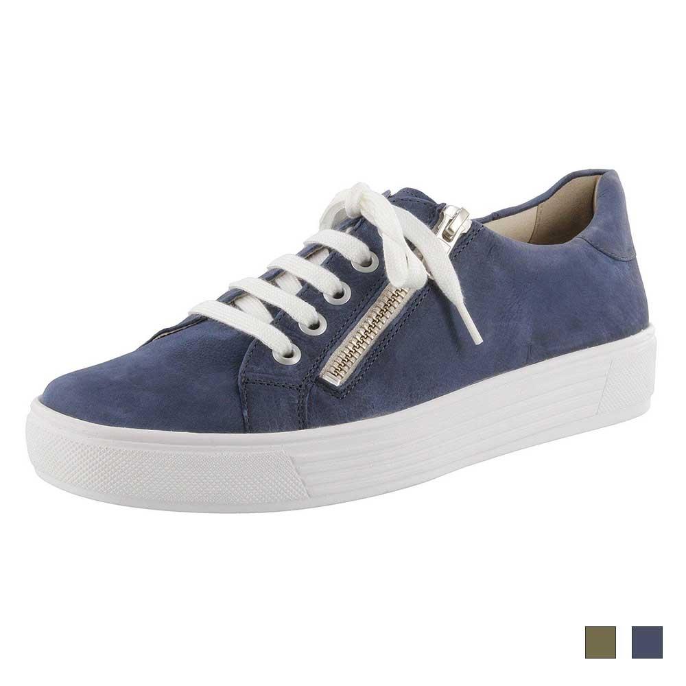 Solidus Sneaker Hazel Vintage in zwei tollen Farben Vintage Blau und Vintage Grün